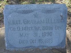 Lieut Graham D Luhn