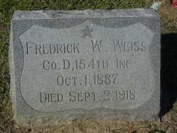 Fredrick Wilhelm Weiss