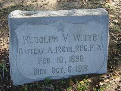 Rudolph V Witte