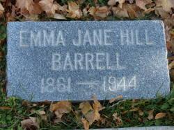 Emma Jane <i>Hill</i> Barrell