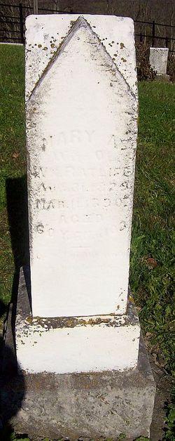 Mary Ann Polly <i>Lawson</i> Ratliff