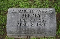 Elizabeth <i>Webb</i> Berrey