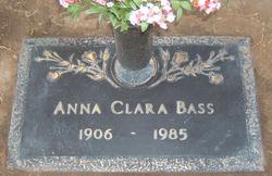 Anna Clara <i>Wheeler</i> Bass
