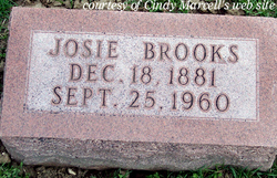 Josie <i>Sharp</i> Brooks