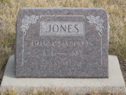 Amanda <i>Sanderson</i> Jones