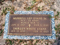 Shirley <i>White</i> Evans