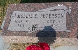 Mollie E <i>Drieth</i> Peterson