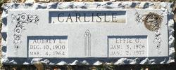 Effie Ola <i>Anders</i> Carlisle