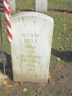 Lieut Adam Betz