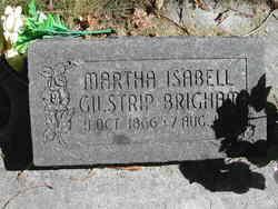 Martha Isabell Gilstrip Brigham