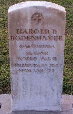 Harold Don Bodenhamer