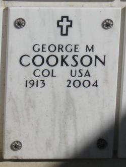 George M Cookson