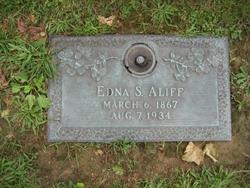 Edna S. <i>Gleason</i> Aliff