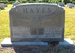 Thomas Richard Hayes, Sr
