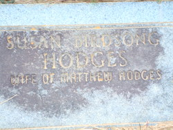 Susan Ester <i>Birdsong</i> Hodges