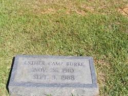Esther Roscilla <i>Camp</i> Burke