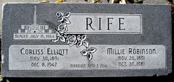 Millie <i>Robinson</i> Rife