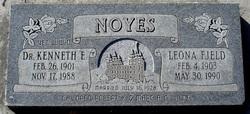 Leona Sarah <i>Fjeld</i> Noyes