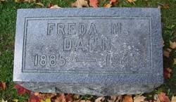 Freda M. <i>Pratt</i> Dann