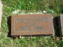 Gladys <i>St John</i> Kelce