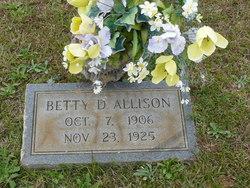 Betty D. Allison