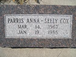 Parris Anna <i>Seely</i> Cox