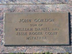 John Gordan McFather