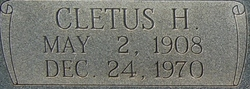 Cletus Hillard Davis, Sr