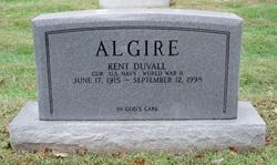 CDR Kent Duvall Algire