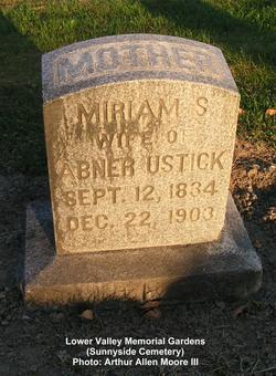 Miriam S. <i>Abbott</i> Ustick