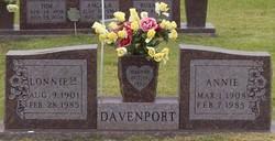 Annie Davenport