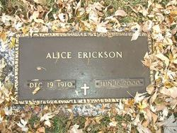 Alice Erickson