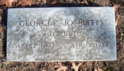 Georgia Jo <i>Allen</i> Batts
