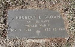 Herbert L Brown
