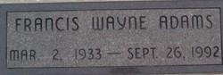 Francis Wayne Adams