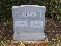 Jane S. Judy <i>Simmons</i> Funk