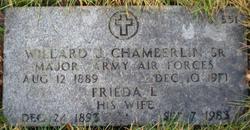Willard Joseph Joe Chamberlin, Sr