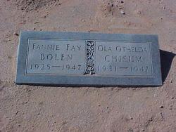 Fannie Fay <i>Chisum</i> Bolen