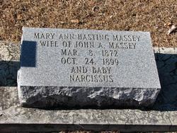 Mary Ann <i>Hastings</i> Massey