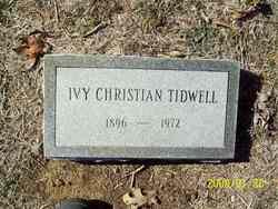 Ivy <i>Christian</i> Tidwell