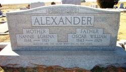 Oscar William Alexander
