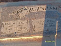 Rosemary <i>Jessop</i> Burnham