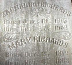 Mary Polly <i>Field</i> Richards