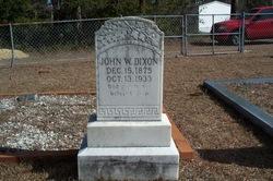 John W Dixon