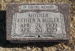 Esther B. Butler