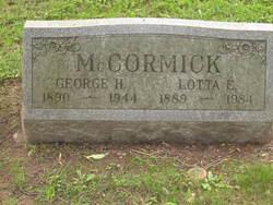 Lotta E <i>Williams</i> McCormick