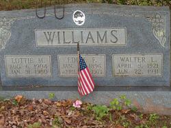 Lottie May <i>Bishop</i> Williams