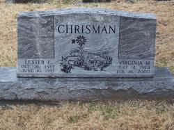 Virginia Mae <i>Hill</i> Chrisman