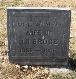 Jennie <i>Mahaffey</i> Bruce