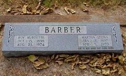 Martha Leona <i>Reynolds</i> Barber